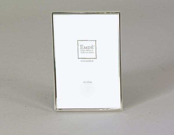 Zilverkleurige metalen kader 13x18cm